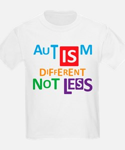 Autism is different NOT less T-Shirt