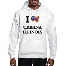 I love Urbana Illinois Hoodie