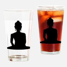 Unique Buddhist art peace Drinking Glass