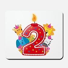 Second Birthday Mousepad