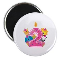 Second Birthday Magnet