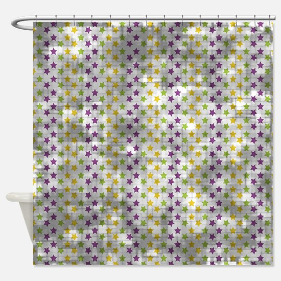 purple and yellow shower curtain. Vintage Purple Green Yellow Stars Shower Curtain And Stripe Curtains  CafePress