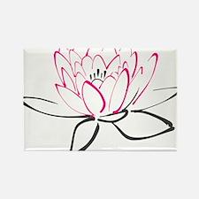 Lotus Flower Magnets