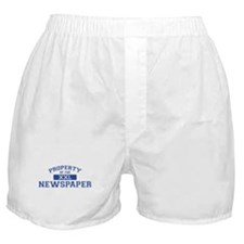 Property Of The Newspaper XXL Boxer Shorts