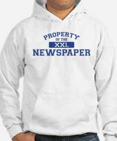 Property Of The Newspaper XXL Hoodie