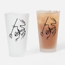 Desert Frog 5 Drinking Glass