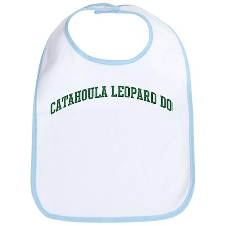 Catahoula Leopard Dog (green) Bib