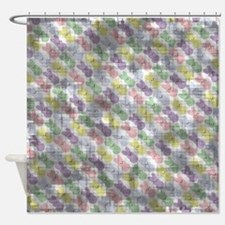Vintage Easter Bunnies Shower Curtain