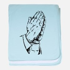 Pray baby blanket