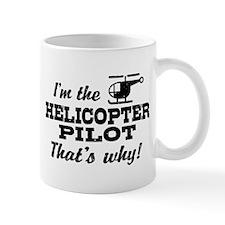 Funny Helicopter Pilot Mug