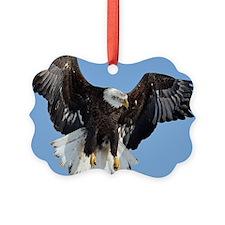 Eagle fluttering Ornament