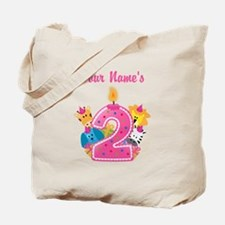 CUSTOM 2 years old Pink Tote Bag