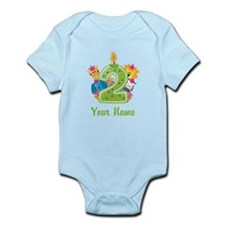CUSTOM 2 Years Old Green Body Suit