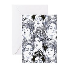 Gibson Dream Girls Greeting Cards