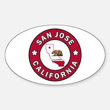 San Jose Decal