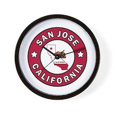 San Jose Wall Clock