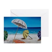 Funny Umbrellas Greeting Card