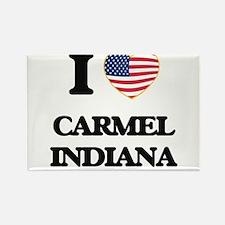 I love Carmel Indiana Magnets