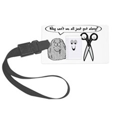 WHY CAN'T WE ALL JUST GET ALONG? Luggage Tag