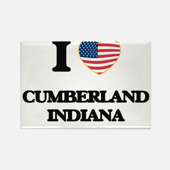I love Cumberland Indiana Magnets