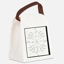 Unit Circle Canvas Lunch Bag