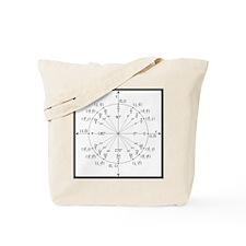Unit Circle Tote Bag