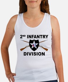 2nd Infantry Division - Crossed Rifles Tank Top