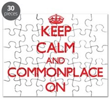 Keep Calm and Commonplace ON Puzzle