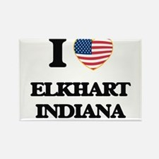 I love Elkhart Indiana Magnets