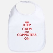Keep Calm and Commuters ON Bib