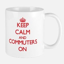 Keep Calm and Commuters ON Mugs