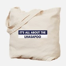 About LHASAPOO Tote Bag