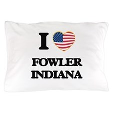 I love Fowler Indiana Pillow Case