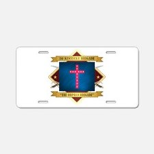 The Orphan Brigade Aluminum License Plate