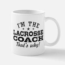 Funny Lacrosse Coach Mug