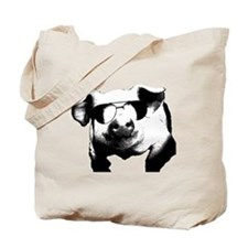 The Shady Pig Tote Bag