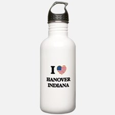 I love Hanover Indiana Water Bottle