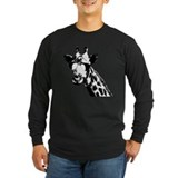 Giraffe Long Sleeve T-shirts (Dark)