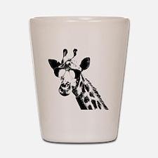 The Shady Giraffe Shot Glass