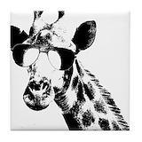 Giraffe Drink Coasters