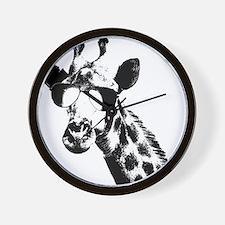 The Shady Giraffe Wall Clock