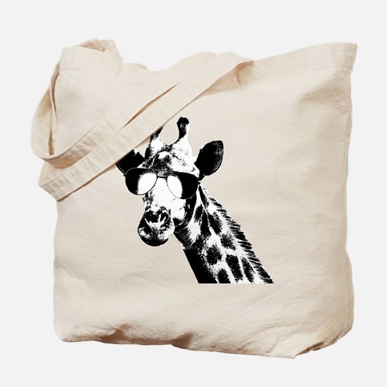 The Shady Giraffe Tote Bag