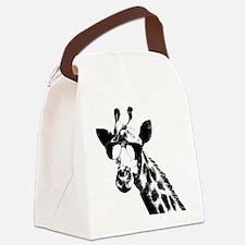 The Shady Giraffe Canvas Lunch Bag