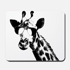 The Shady Giraffe Mousepad