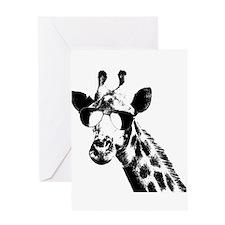 The Shady Giraffe Greeting Cards
