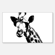 The Shady Giraffe Decal