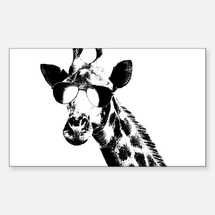 The Shady Giraffe Decal