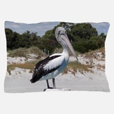 Pelican Standing on Watch Pillow Case