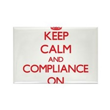 Keep Calm and Compliance ON Magnets