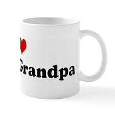 I Love Mimi & Grandpa Mug